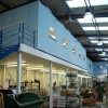 multi-tier office construction - steel mezzanine flooring installations