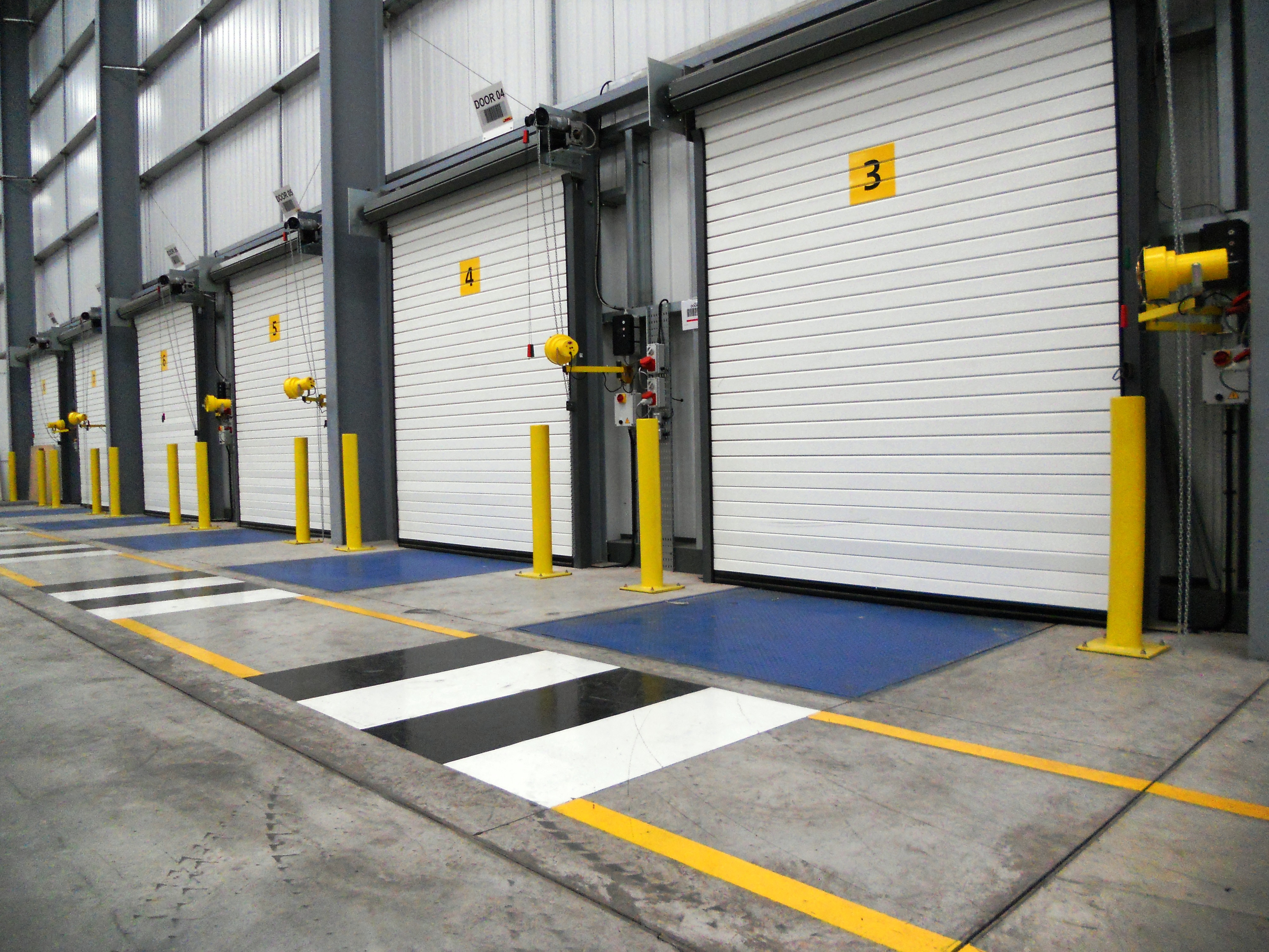 Column Protection Barriers Warehouse Safety Racking Guards
