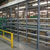 warehouse racking protection barriers