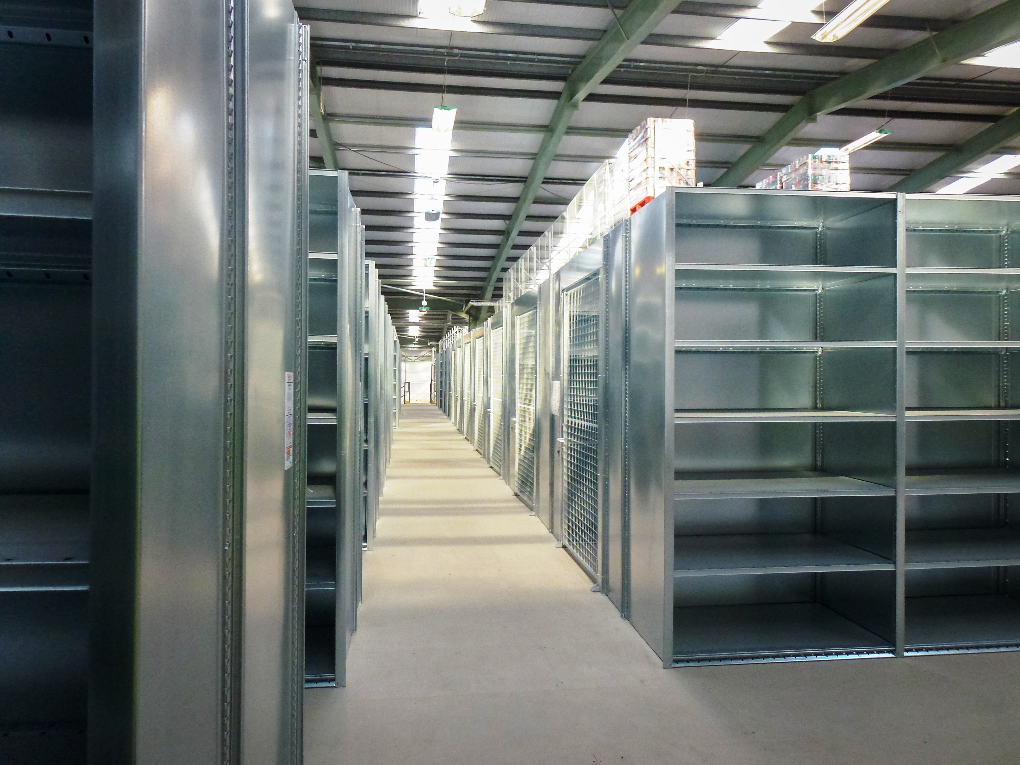 Warehouse Shelving Systems Industrial Steel Shelves