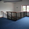 Spindle type handrail
