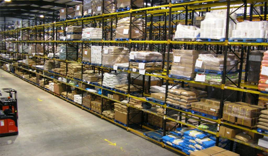 industrial pallet racking systems for warehouses