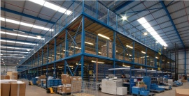 How a mezzanine floor can increase your warehouse space