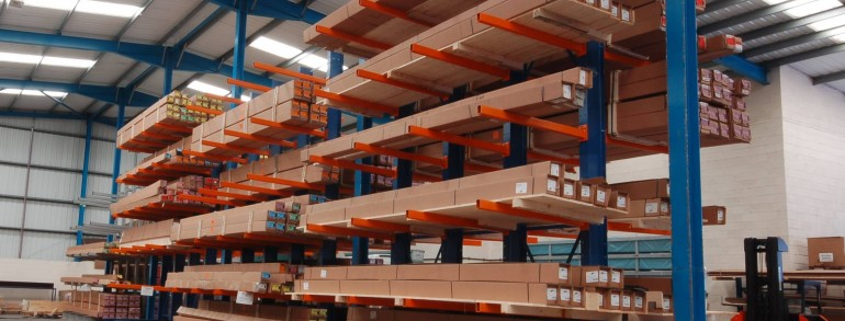 Cantilever Racking- more storage with better access